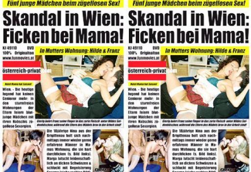 Skandal in Wien Ficken bei Mama