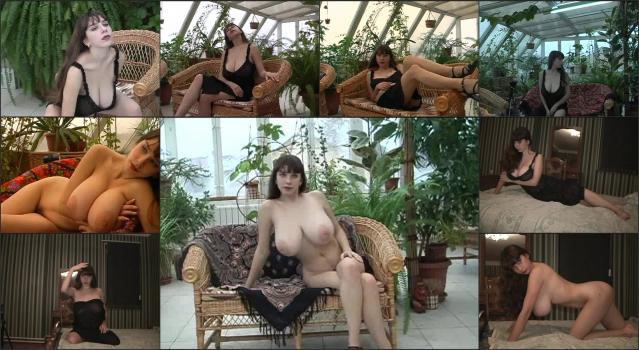 DVD Russian Gorgeous Yulia_Nova-Yulia Nova – Yulia In The Autumn – Black-See-Through-Dress (1)
