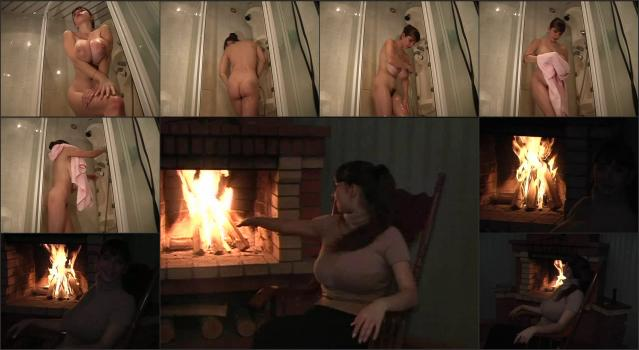 DVD Russian Gorgeous Yulia_Nova-Yulia Nova – Yulia In The Autumn – Shower-Scene Russian-Stove