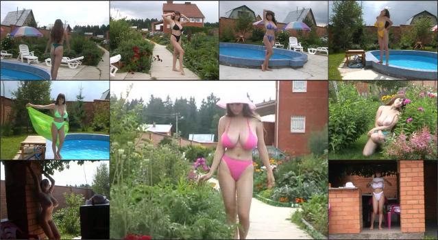 DVD Russian Gorgeous Yulia_Nova-Yulia Nova – Yulia In The Summer – Bikini Show